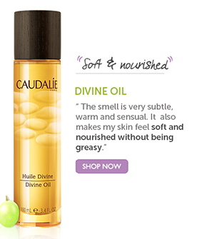 DIVINE OIL: 'Soft and nourished' | 'The smell is very subtle, warm and sensual. It also makes my skin feel soft and nourished without being greasy.' SHOP NOW