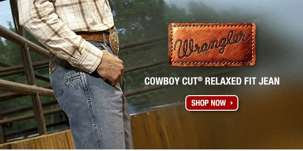 Wrangler® Cowboy Cut® Relaxed Fit Jean.