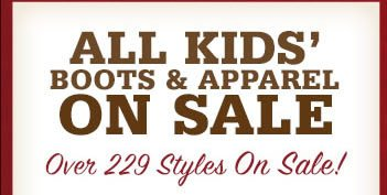 Kids' Boot & Apparel