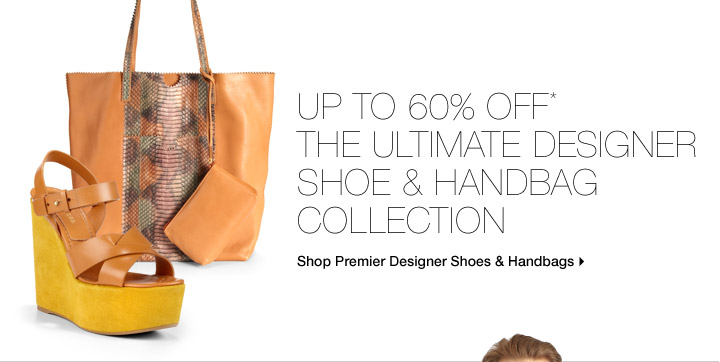 Up To 60% Off* The Uitimate Designer Shoe & Handbag Collection
