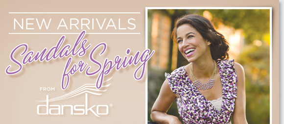Shop the NEW Dansko arrivals for spring! Find great new colors and styles like the 'Nina,' 'Nigella,' 'Tasha,' 'Sophie' and more! At The Walking Company, we have every Dansko color and style, plus exclusives. Find the best selection when you shop online and in stores at The Walking Company.
