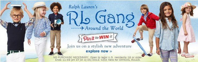 Ralph Lauren's RL Gang. Explore now.