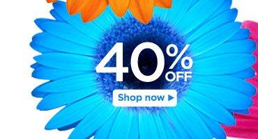 40% off Styles