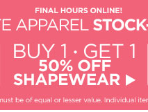 Buy One, Get One 50% Off Shapewear