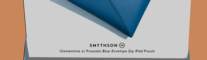 Carry a classic: Shop iPad accessories and more from Smythson.