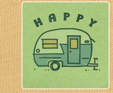 Women's Tee Happy Camper