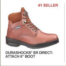 """DuraShocks SR Direct-Attach 6"""" Boot"""