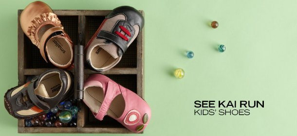 SEE KAI RUN: KIDS' SHOES, Event Ends March 27, 9:00 AM PT >