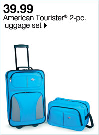 Web exclusive! 39.99 American Tourister(R) 2-pc. luggage set Plus, use your Goodwill Sale coupon & save even more!