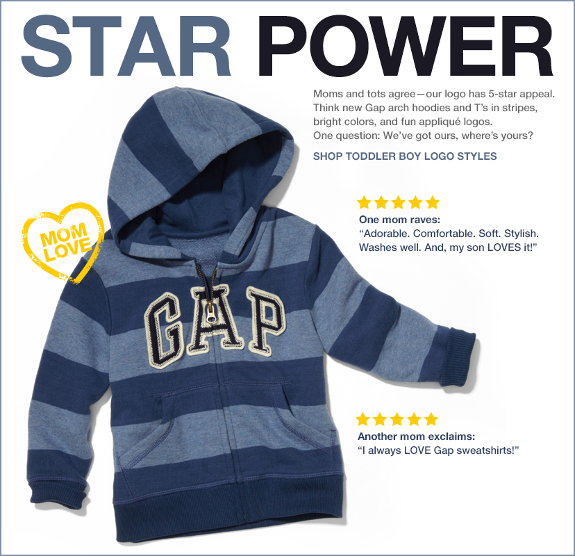 STAR POWER | SHOP TODDLER BOY LOGO STYLES