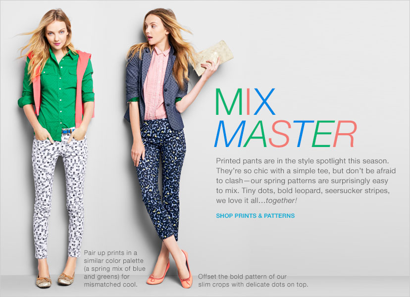 MIX MASTER | SHOP PRINTS & PATTERNS