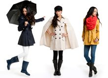 Bring On the Spring Showers Chic Rain Gear