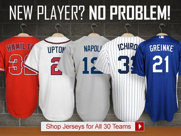 Shop Jerseys For All 30 Teams