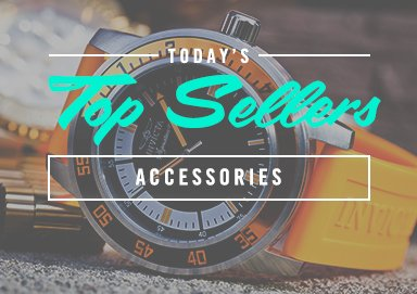 Shop Top Sellers: Accessories