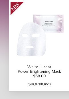 White Lucent Power Brightening Mask