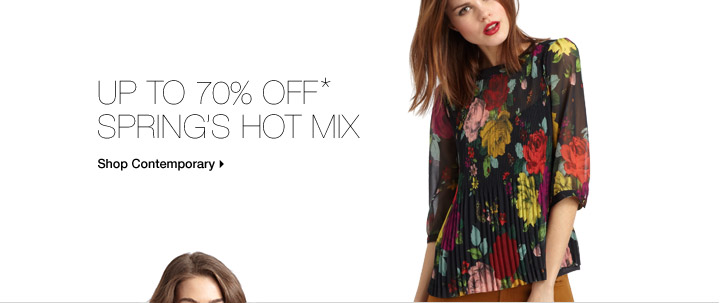 Up To 70% Off* Spring's Hot Mix