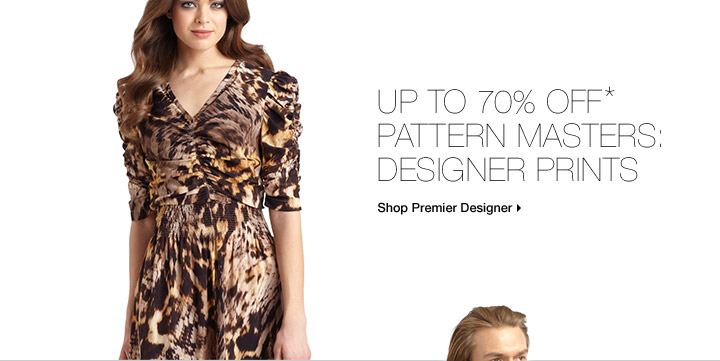 Up To 70% Off* Pattern Masters: Designer Prints