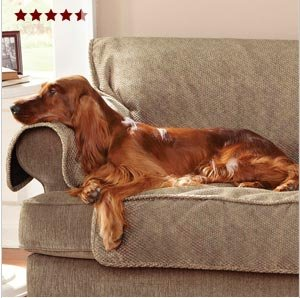 """""""Researched several options for protecting our leather sofa. This sofa cover is by far the very best."""""""