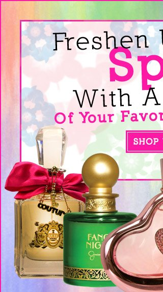 Freshen Up For Spring With A Refill Of Your Favorite Fragrance