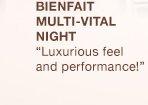 BIENFAIT MULTI-VITAL NIGHT | Luxurious feel and performance!