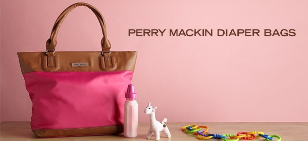 PERRY MACKIN DIAPER BAGS, Event Ends March 28, 9:00 AM PT >