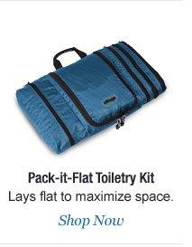 Shop Pack-it-Flat Toiletry Kit