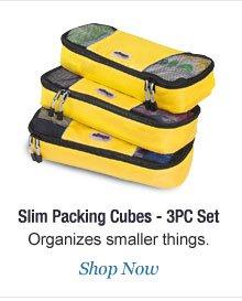 Shop Slim Packing Cubes - 3PC Set