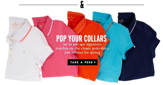 pop your collars. take a peek.