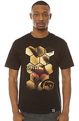 The Honeycomb Tee in Black