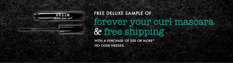 free mascara and shipping