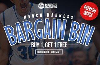 Refresh: March Maddness Bargain Bin