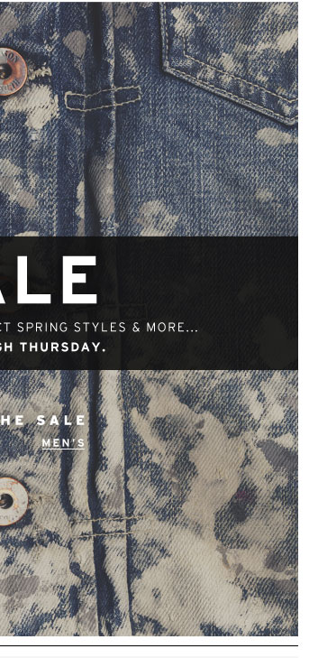 Shop the Sale Men's