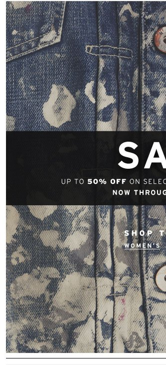 Shop the Sale Women's
