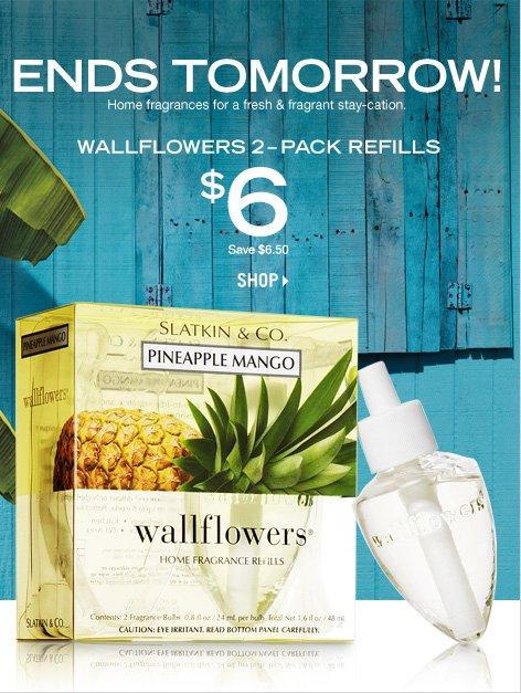 Wallflowers 2-Pack Refills - $6