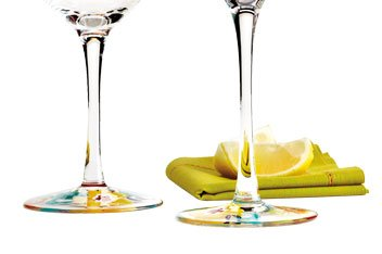20% off Happy Floral Stemware