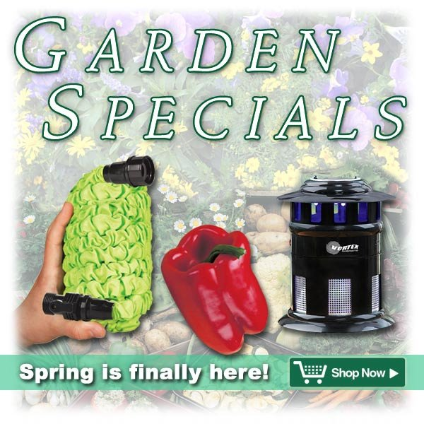 Garden Specials - Spring is finally here!