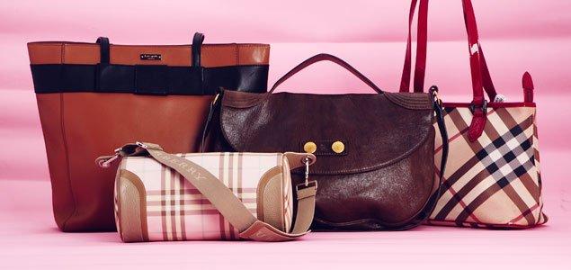 Alexander McQueen, Burberry, Kate Spade & more Handbags