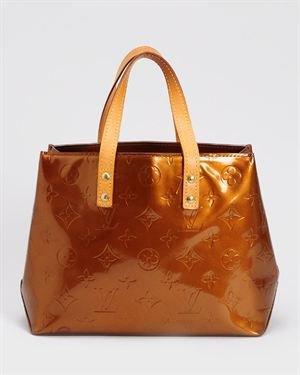 Louis Vuitton LN Vernis Monogram Reade PM Handbag- Made in France $499