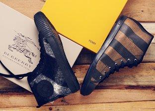 Men's Designer Shoe Shop: Fendi, Gucci, Burberry & More