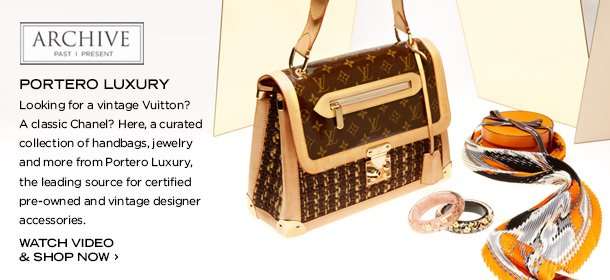 ARCHIVE: PORTERO LUXURY ACCESSORIES, Event Ends March 28, 9:00 AM PT >