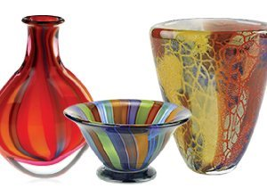 Just Add Color: Art Glass by Badash