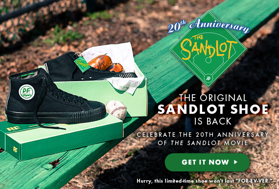 The Sandlot Shoe is Back