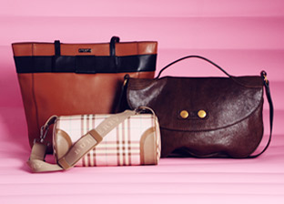 Alexander McQueen, Burberry, Kate Spade & more Handbags