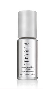 TODAY ONLY: FIRST 500. NEW PREVAGE® ANTI-AGING + INTENSIVE REPAIR DAILY SERUM - FREE. Lines lost, firmness found, luminosity returned - younger skin in 15 minutes.**