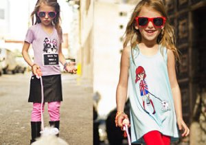 Graphic Tops for Girls