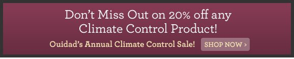 Don't Miss Out on 20% off any Climate Control Product! Ouidad's Annual Climate Control Sale! Shop Now