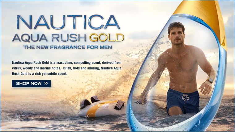 AQUA RUSH GOLD - The New Fragrance For Men