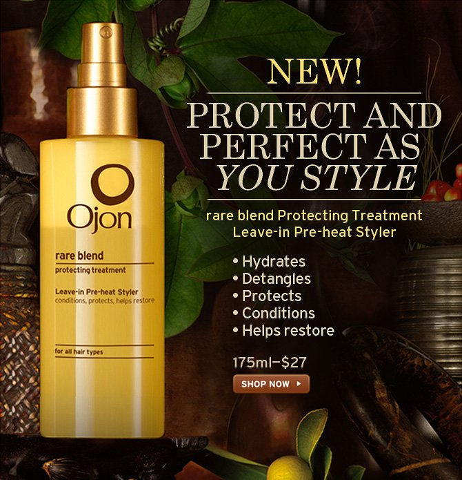 NEW  PROTECT AND PERFECT AS YOU STYLE rare blend Protecting Treatment Leave  in Pre heat Styler Hydrates Detangles Protects Conditions Helps restore  175ml 27 dollars SHOP NOW