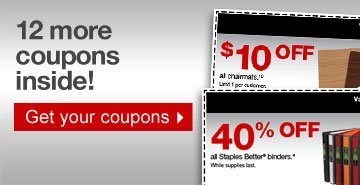 12 more  coupons inside! Get your coupons.