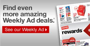 Find  even more amazing Weekly Ad deals.^ See our Weekly Ad